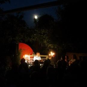 22.7.2013 Montag, der Tag des Mondes: Eine gespenstische Vollmond-Lesung mit Beate Reker