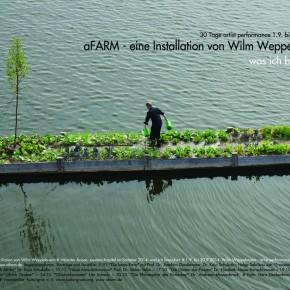 Herbst 2014 - aFARM - eine Installation von Wilm Weppelmann