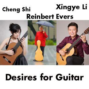 "9.7.2016 Konzert ""Desires for Guitar"" Cheng Shi, Xingye Li und Reinbert Evers"