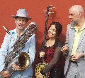 "26.8.2016 Abschlusskonzert ""Shang Yin Trio""  Xu Fengxia, Jan Klare und Dirk-Peter Kölsch"