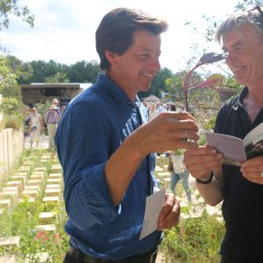 Chelsea Flower Show 2017: Wilm Weppelmann traf James Basson